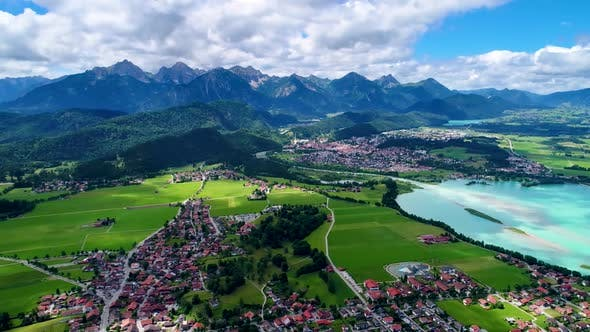 Thumbnail for Forggensee and Schwangau Germany Bavaria