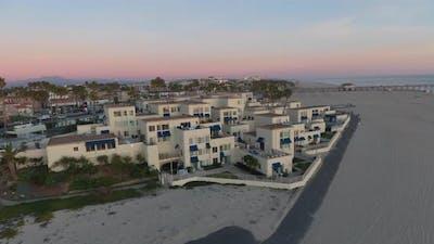 Beachfront Apartments At Sunset