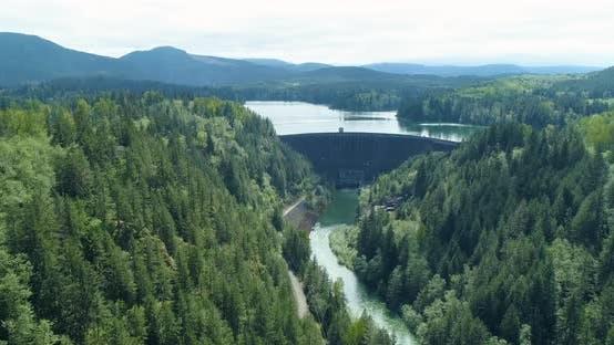 Thumbnail for Alder Lake Dam Nisqually River Washington