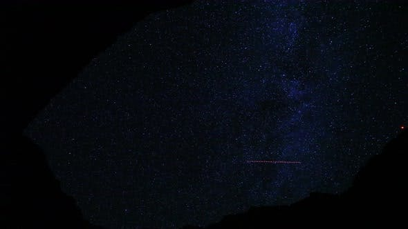 Thumbnail for Canyon Night Stars