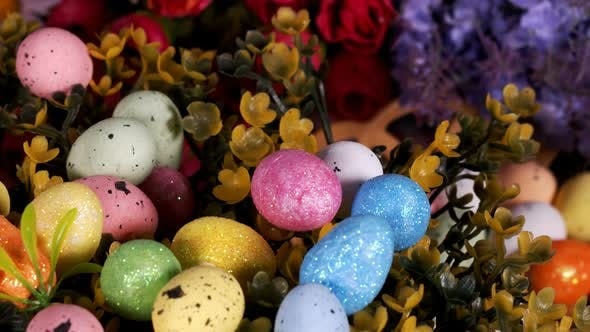 Thumbnail for Colorful Traditional Celebration Easter Paschal Eggs 50