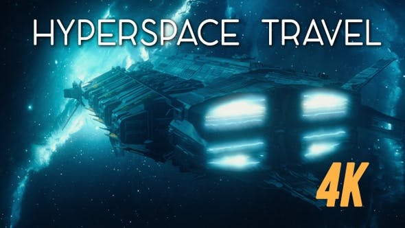 Thumbnail for Entering Hyperspace Travel 4K