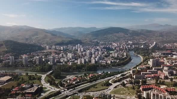 Thumbnail for Aerial View Of Zenica City