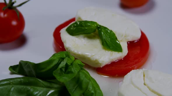Thumbnail for Caprese Salad on a White Plate 09