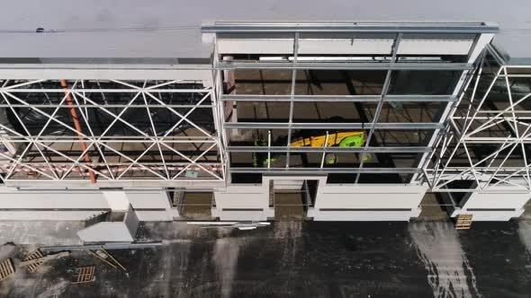 Facade of Building Construction