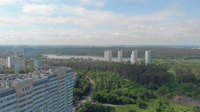 River Apartment Buildings