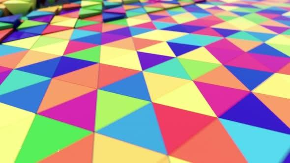 Thumbnail for Bbright Mehrfarbige Dreidimensionale Dreiecke