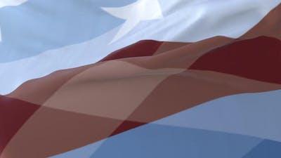 Peoria Flag, United States