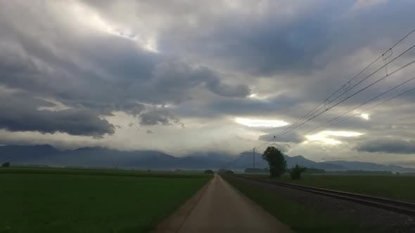 Cloudy Morning for Driving