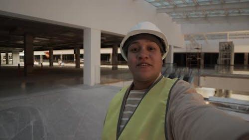 Worker Vlogging in Premises under Construction