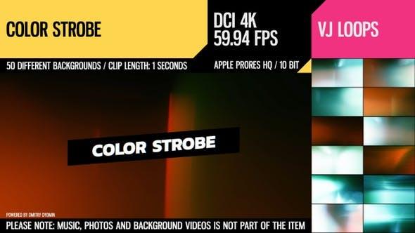 Farb-Blitzlicht (4K Set)
