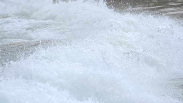 Thumbnail for Waves on the Beach of Nai Harn, Thailand
