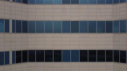 Reflected Hospital Wall Window