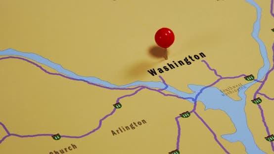 Map Of Washington Pinned 02