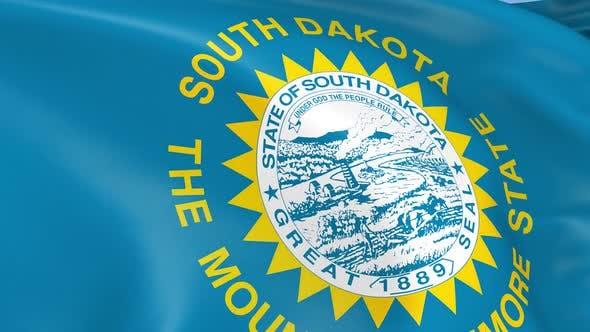 Thumbnail for South Dakota State Flag