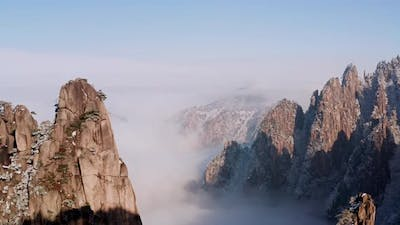 The amazing Yellow Mountains in China