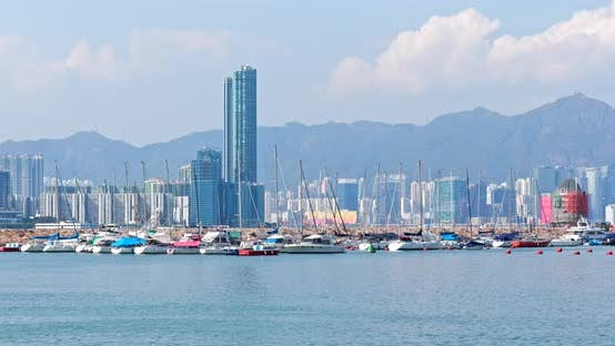 Thumbnail for Typhoon shelter in causeway bay