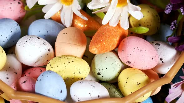 Thumbnail for Colorful Traditional Celebration Easter Paschal Eggs 52