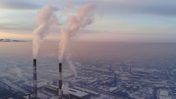 Thumbnail for Air Pollution in an Industrial City