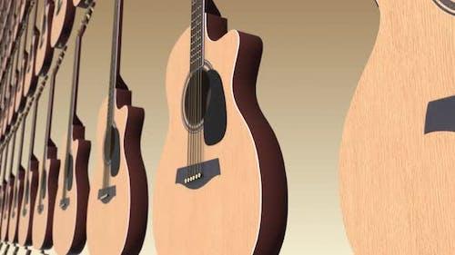 4K Guitar Background Seamless Loop V2