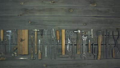 Household tools.