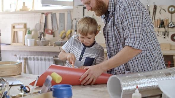 Thumbnail for Boy Making Crafts