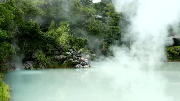 Thumbnail for Heiße Quelle in Beppu Oita