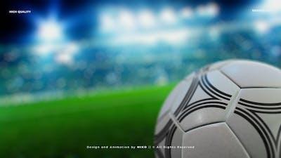 Soccer Ball Stadium Background