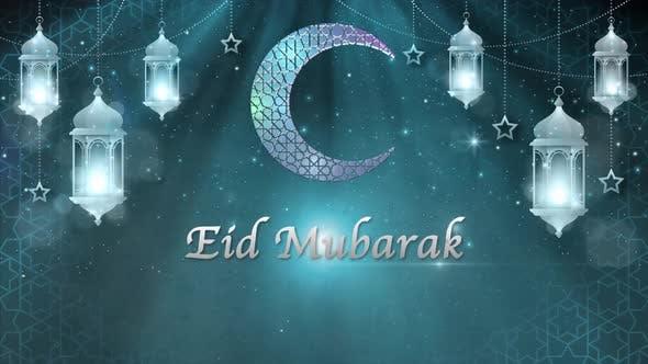 Eid Mubarak Background 4K