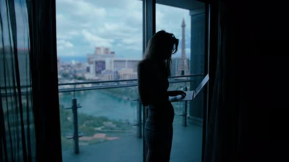 Woman In The Hotel