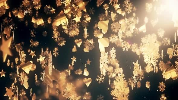Thumbnail for Christmas Flakes 01 4K