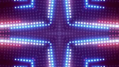 Symmetry Lighting Show