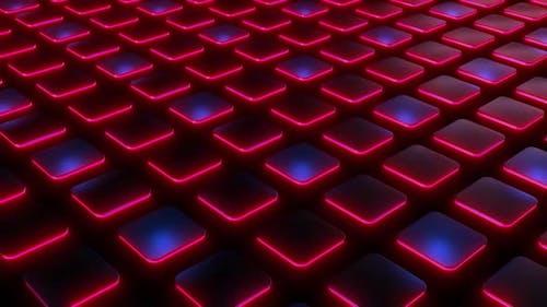 4k Colored Neon Plates Loop Pack