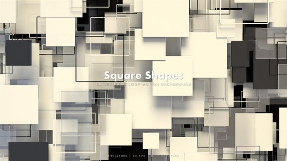 Thumbnail for Square Shapes Motion 61