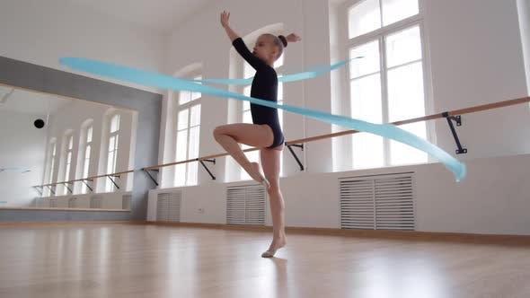 Modern Dance with Ribbon