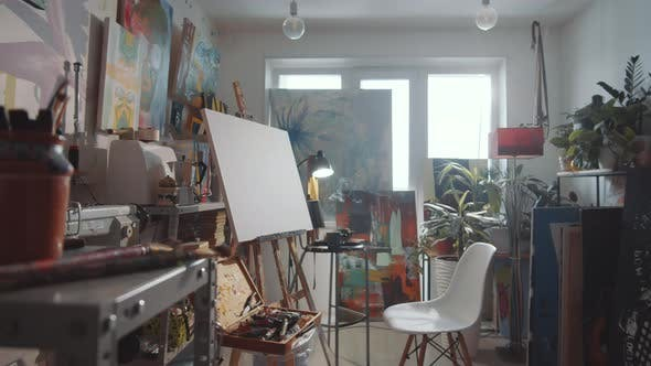 Interior of Creative Art Studio