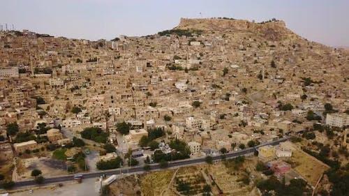 Unique Settlement Old Mardin Rock Houses, Anatolia, Turkey, Middle East