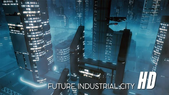 Thumbnail for Future Industrial City HD
