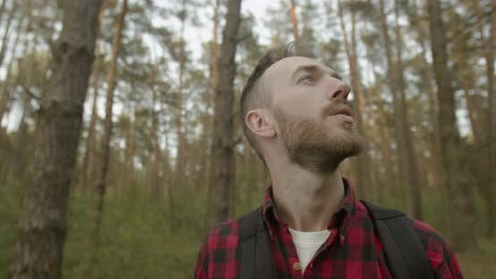 Healthy Breathing in the Forest
