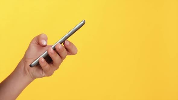 Mobile App Digital Technology Hand Smartphone