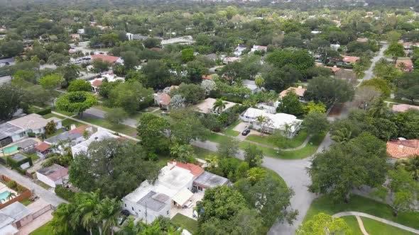 Orbiting around a Suburban Miami Neighborhood