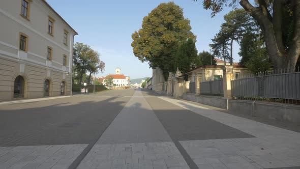 Street in Alba Iulia