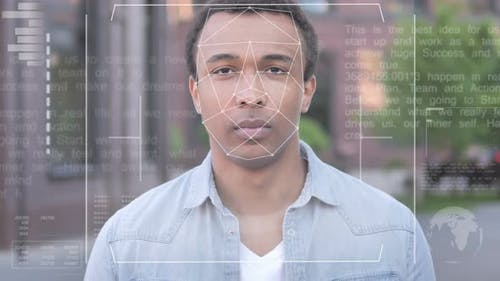 Biometric Facial Recognition Failure for African Man, Access Denied
