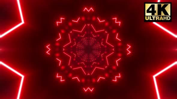 Cover Image for 7 Red Shape Neon Tunnel Loop Pack