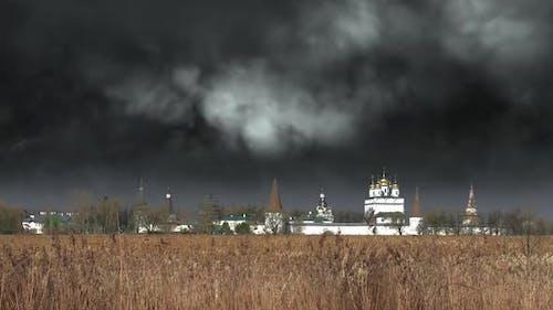 Thunder and Lightning over the Monastery