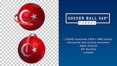 Soccer Ball 360º - Turkey