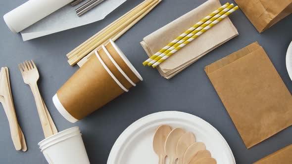 Thumbnail for Einwegschalen aus Papier und Holz 2