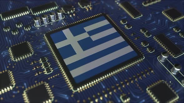 Thumbnail for National Flag of Greece on the Operating Chipset