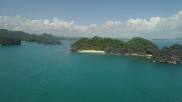 Thumbnail for Seascape of Caramoan Islands, Camarines Sur, Philippines