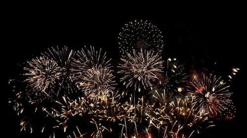 Feuerwerk Feiern